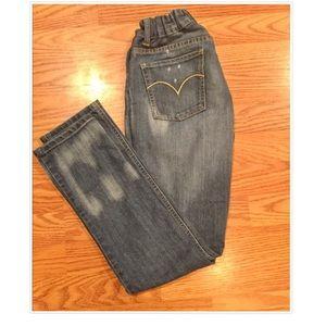 Girls Levi Boyfriend Jeans